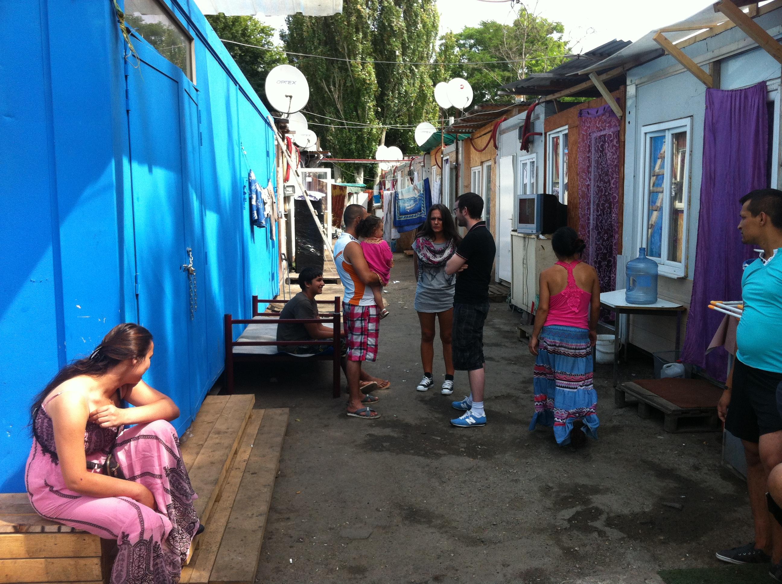 Saint Denis si cele 55 de familii de rromi