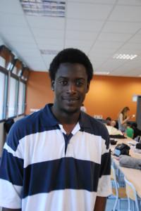 Anglade AMEDEE, jeune reporter de Saint Denis