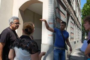 Samir nous fait visiter l'île-Saint-Denis