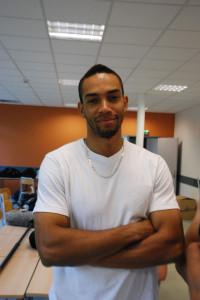 Jean-Philippe Bucher, jeune reporter de Saint Denis