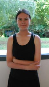 Lucile Garcia Bastida, jeune reporter de Vichy