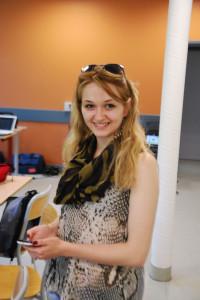 Natasha Miteva, jeune reporter de Skopje