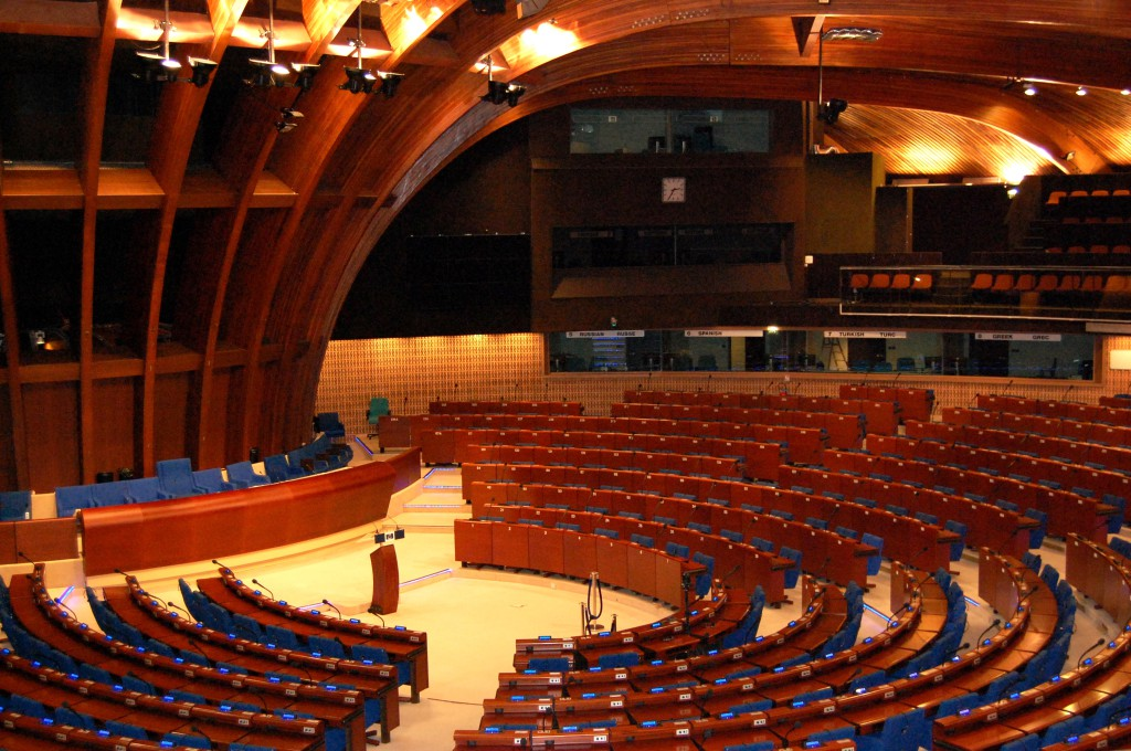 There's lots of room for debate at the Council of Europe. © Jana Kugoth