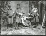 Photographie des frères Manaki de soldats de la Première Guerre mondiale