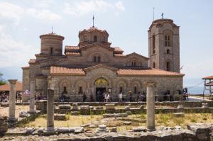 Cathédrale d'Ohrid