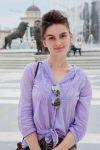 Elta Liksenaj, jeune de Tirana, étudiante en Master Relations publiques à l'Université Beder