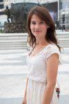 Feride Licolli, jeune de Korçë, étudiante en 2ème année à l'Université F.S. Noli de Korçë