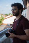 Jacopo Landi, jeune et photographe, volontaire service européen