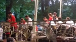 Steel Drum au kiosque à musique de la source de l'Hôpital