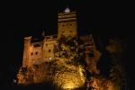De nuit, le château de Bran devient particulièrement sinistre. © Tsiorisoa Andriandalaoarivony