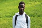 Gédéon TOFIDJI, jeune, étudiant en 2ème au Lycée Albert Londres de Cusset