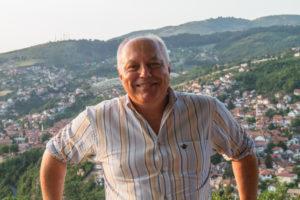 Frédéric PRULHIERE, Responsable de l'itinérance, Vice-président de Sur les pas d'Albert Londres