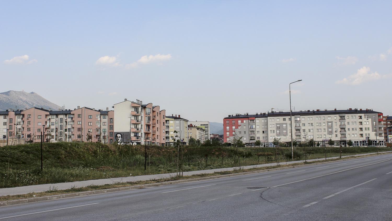 Nouveaux immeubles du quartier Lukavica, Sarajevo