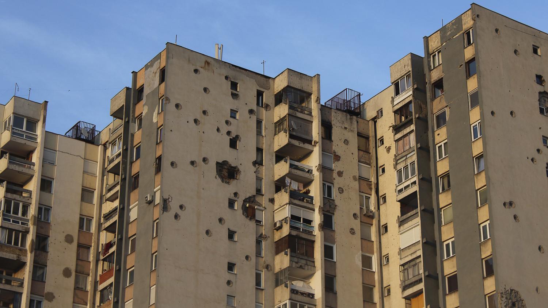 Immeuble à Lukavica, Sarajevo
