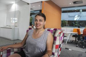 Emina, Développeuse informatique à Agenci Digital, Sarajevo