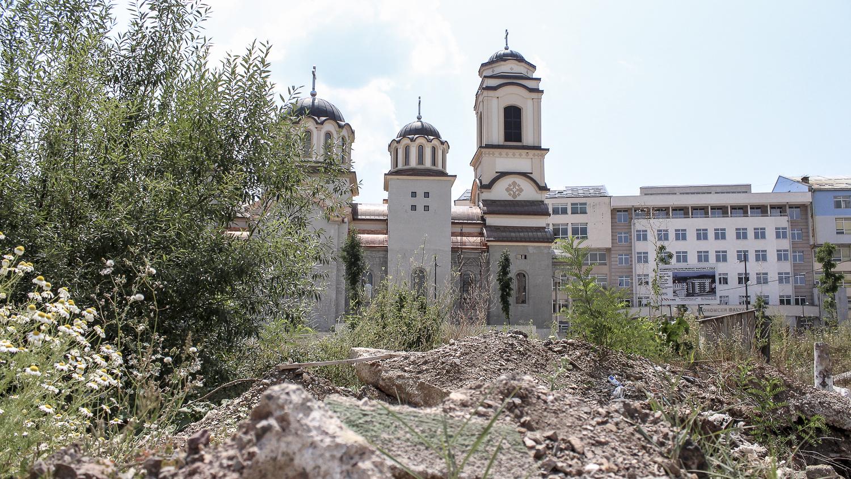 église dans le quartier de Lukavica, Sarajevo