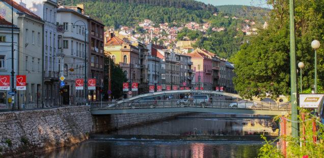 Sarajevo, la Miljacka