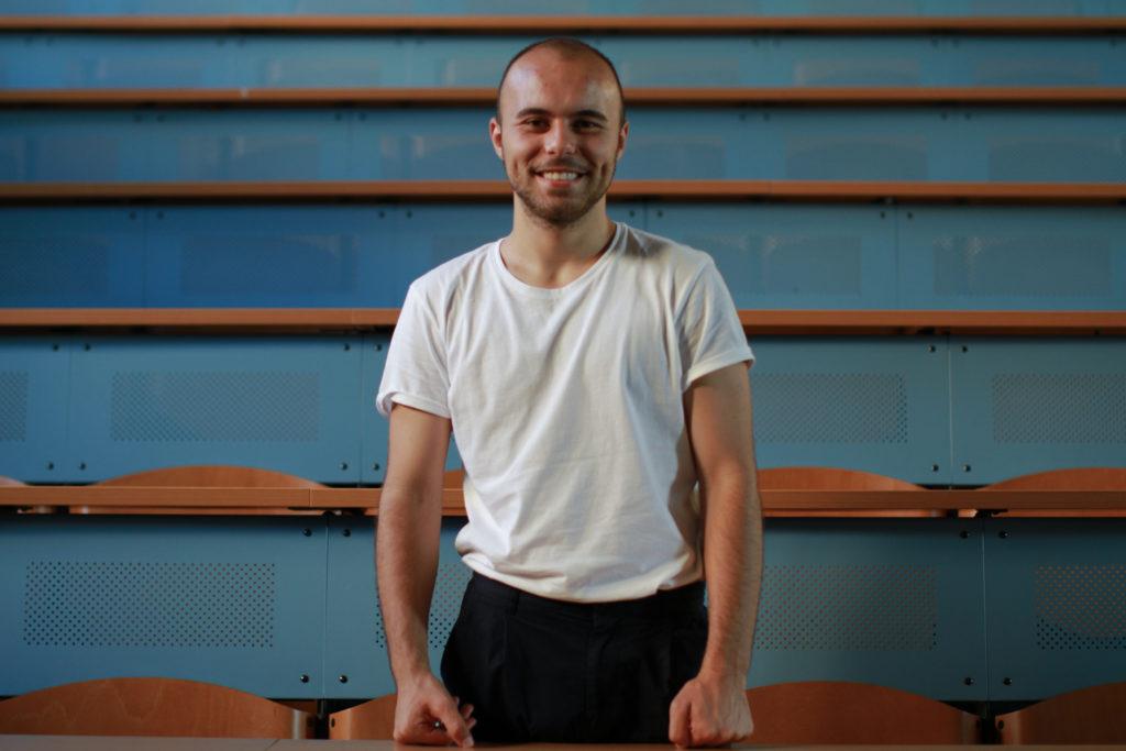 Ahmed Kosovac, étudiant en journalisme à Sarajevo