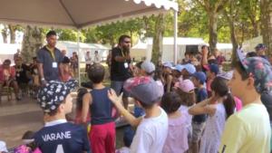 Festival de Gannat : Découverte du Haka wallisien