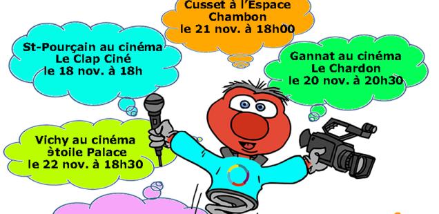 Affiche du Festival francophone du reportage court Vichy 2018 miniature