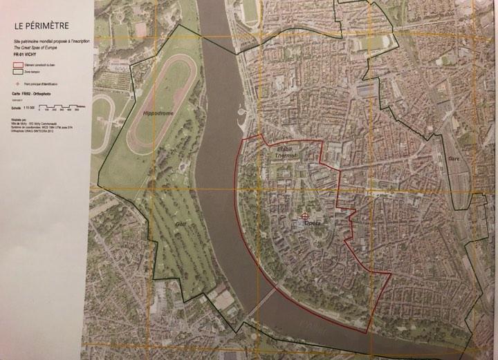 Le Périmètre: Site patrimonial mondial proposé à l'inscription