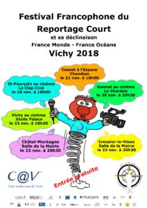 Zébulix, la mascotte du festival Francophone du reportage court