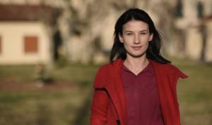 Feride LIÇOLLI, jeune reporter, membre de l'équipe AIESEC à Korça, Albanie