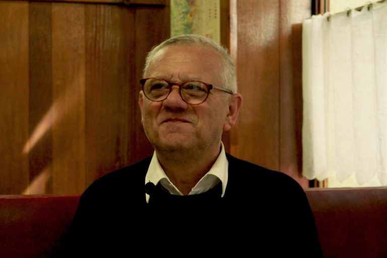 Jean-Luc, the owner of Café des Fédérations