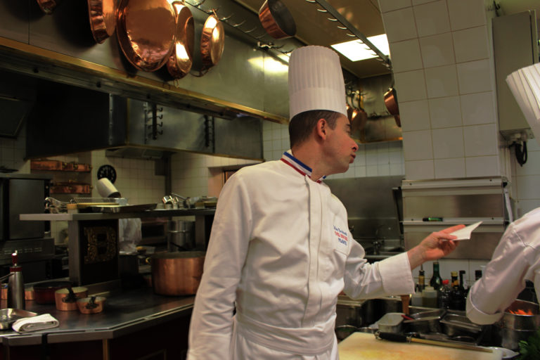Chef Gilles Reinhardt-Paul Bocuse Restaurant