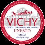 Vichy, Candidate au patrimoine mondial de l'Unesco