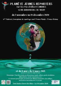 Affiche du Festival Francophone du Reportage court France Monde - France Océans