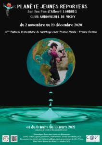 Affiche du Festival Francophne du Reportage court France Monde - France Océans