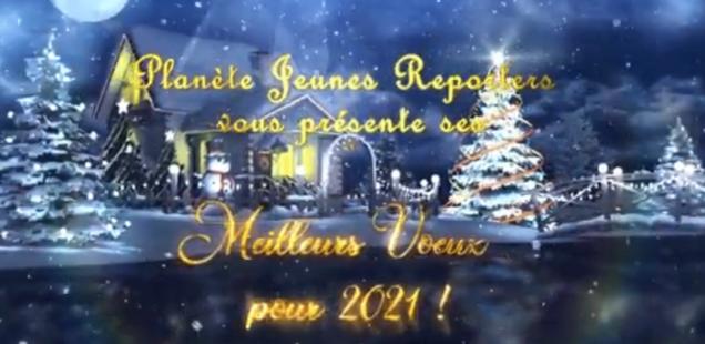 Vœux 2021 de Planète Jeunes Reporters