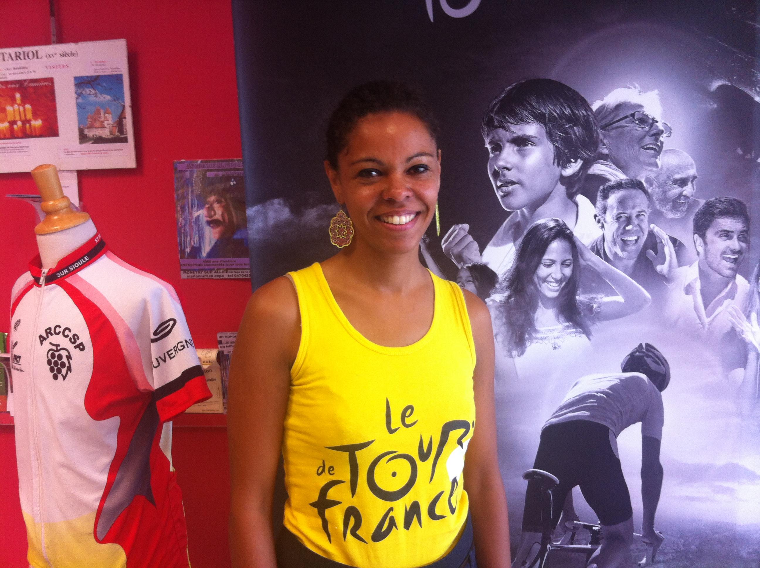 Cathy Monciaud, Directrice de l'office de tourisme de Saint Pourçain sur Sioule