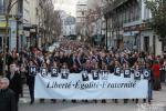 Marche républicaine du 10 janvier à Vichy
