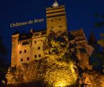 Carte postale du château de Bran