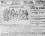 Une du journal The New-York World du 26 janvier 1890